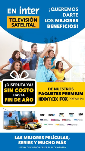 Deco Inter Tv Satelital Adicional Promo
