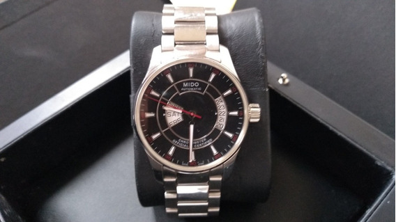 Mido Automatic Cronomether Official Certified