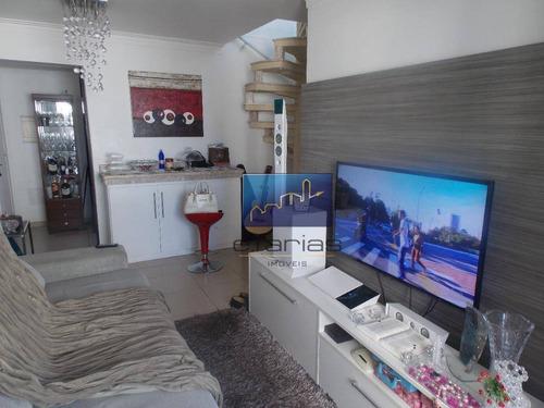 Imagem 1 de 30 de Cobertura Com 3 Dormitórios À Venda, 123 M² Por R$ 780.000,00 - Vila Carrão - São Paulo/sp - Co0013