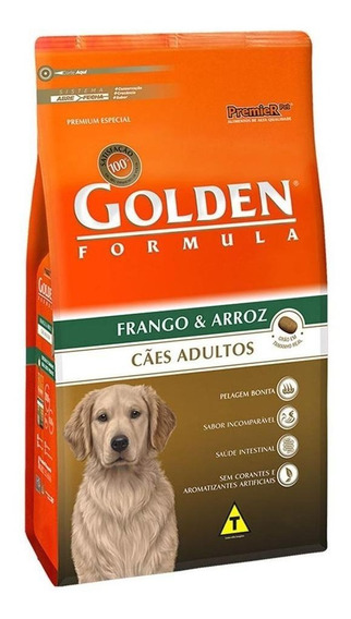 Ração Golden Formula Premium Especial cachorro adulto todos os tamanhos frango/arroz 3kg
