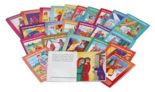 Imagen 1 de 2 de Aventuras De La Biblia Para Niños Pack 10 Unidades