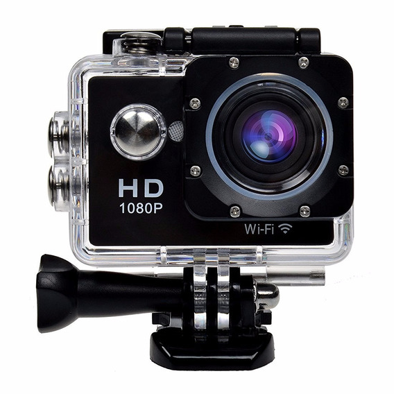 Action Camera Full Hd Filmadora Micro Sd 720p Tela 2