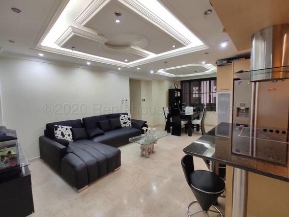 Apartamento En Venta En Base Aragua Amoblado, Oim 20-8671