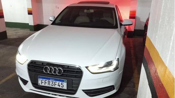 Audi A4 2.0 Tsfi - Teto Solar E Interior Bege - 2013