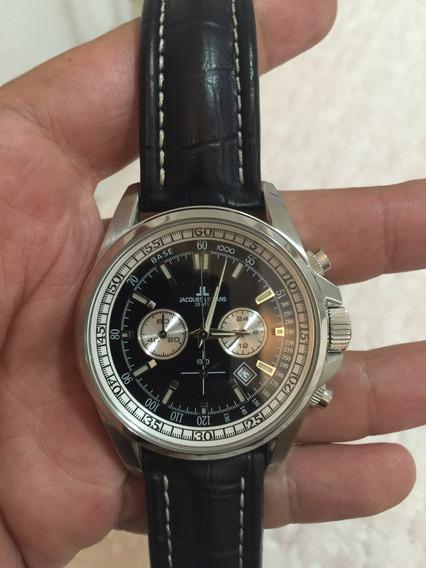 Relógio Jaques Lemans Impecável Sem Detalhes