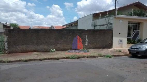 Terreno Residencial À Venda, Vila Nossa Senhora De Fátima, Americana. - Te0134