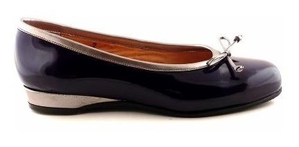 Chatita Cuero Zapato Mujer Briganti Mocasin Mccha2949 Ca