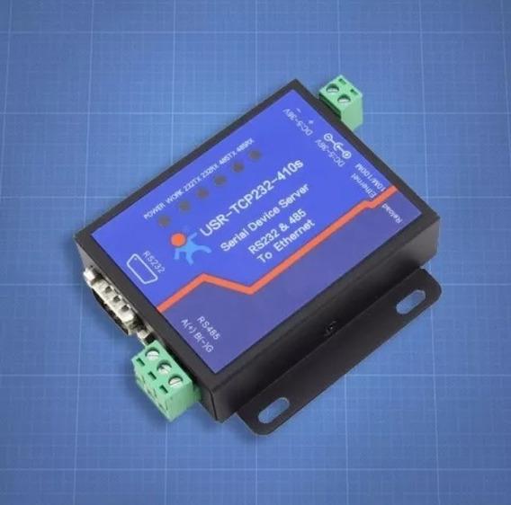 Conversor Serial Rs232 Rs485 Para Ethernet Tcp/ip Usr410s