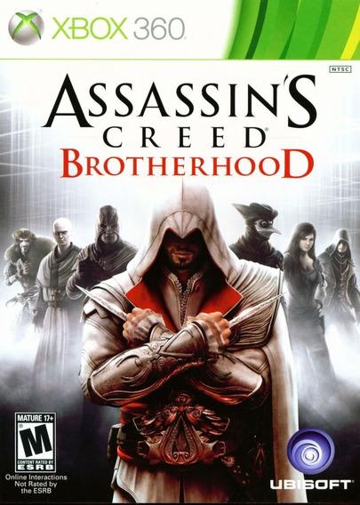Assassins Creed Brotherhood Xbox 360 - Midia Digital