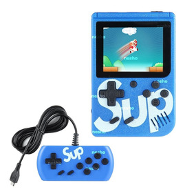 Mini Vídeo Game Boy Portátil G5 400 Games Sup Clássico Preto