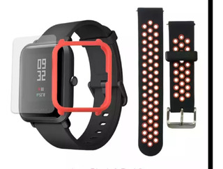 Relógio Smartwatch Amazfit Bip Pulseira, Pelicula + Case