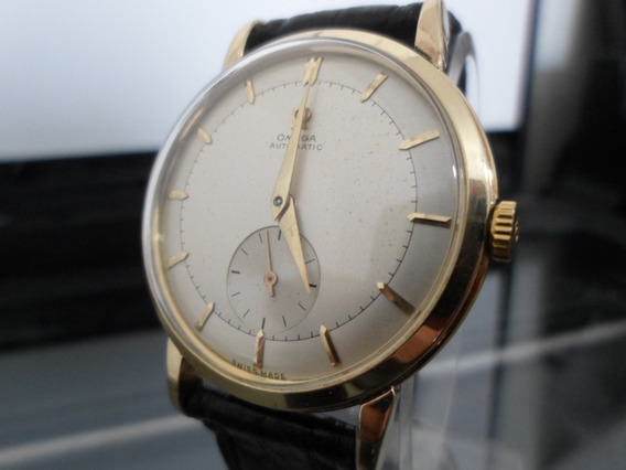 Omega Automatic Bumper Cal 344 Vintage 80 Microns