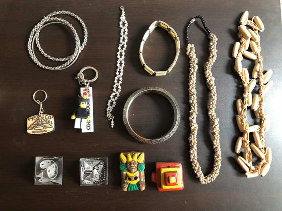 Collares Pulseras Llaveros Colleccionables Fantasía Paquete
