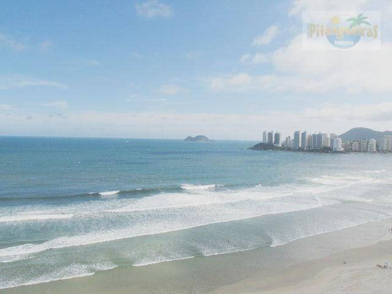 Praia De Pitangueiras Cobertura Frente Total Ao Mar, 240 M² Úteis, 2 Garagens, Vista Cinematográfica Ao Mar, Centrinho!!! - Co0130
