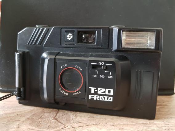Câmera Máquina Fotográfica Antiga Frata T20
