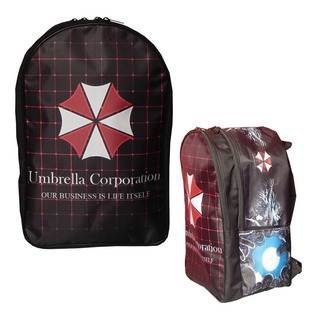 Resident Evil Mochila Backpak Umbrella Corporation