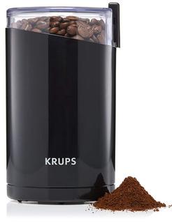 Krups F203 Moledora De Café Y Granos Cuchillos Acero Inox