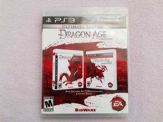 Dragon Age Origins Ultimate Edition Original Para Ps3
