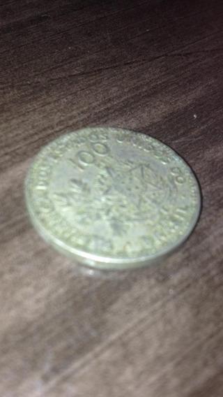 Moeda Republica Dos Estados Unidos Brasil 100 Reis