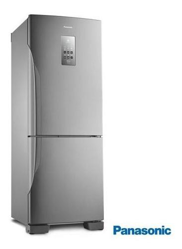 Geladeira/refrigerador 425 Litros 2 Portas Aço Escovado - Panasonic - 110v - Nr-bb53pv3xa