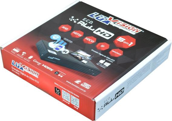 Dvr Stand Alone Híbrido Luxvision 16 Canais Ahd Ecd 1080p