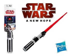 Sabre De Luz Básico Retrátil Darth Vader Star Wars - Hasbro