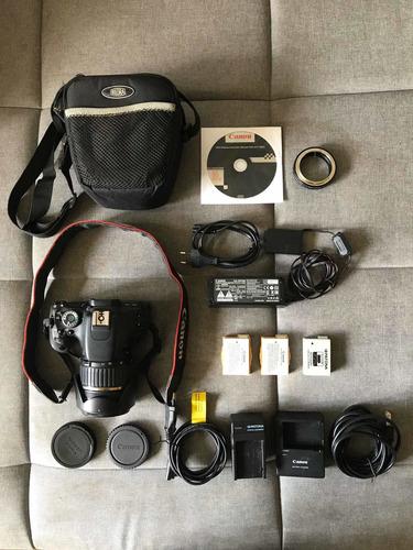 Canon 600d 3ti + Lente Tamron 17-50 2.8 + Acessórios