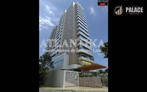 Apartamento Com 2 Dormitórios À Venda, 71 M² Por R$ 418.950,00 - Canto Do Forte - Praia Grande/sp - Ap1141