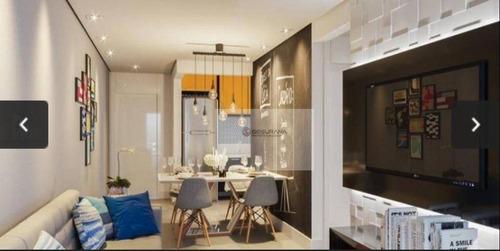 Imagem 1 de 6 de Apartamento Com 2 Dormitórios À Venda, 52 M² Por R$ 489.000,00 - Jardim Avelino - São Paulo/sp - Ap0339