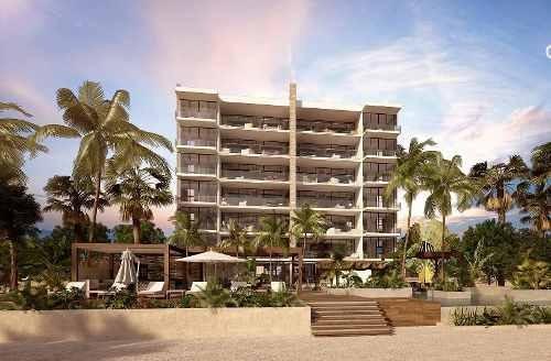 Departamento En Venta Frente A La Playa, San Bruno, Yucatán