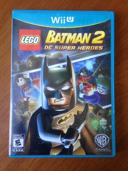 Lego Batman 2: Dc Super Heroes Mídia Física Original Wii U