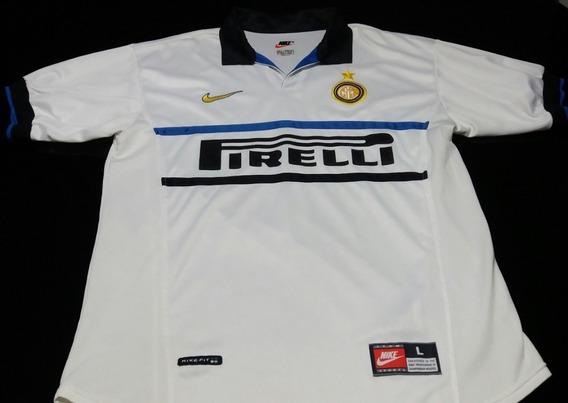Camisa Internazionale Away 1998 #14 Simeone Original