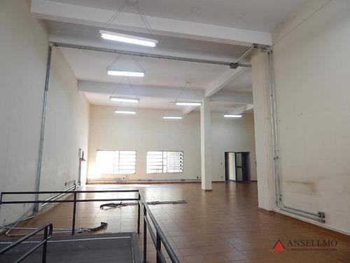Imagem 1 de 11 de Salão Para Alugar, 235 M² Por R$ 12.750,00/mês - Centro - São Bernardo Do Campo/sp - Sl0401