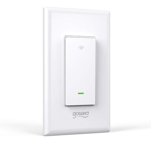 Imagen 1 de 6 de Interruptor Inteligente Wifi Gosund | Smart Switch