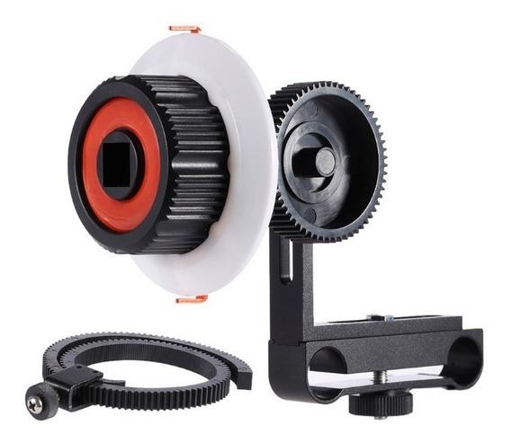 Follow Focus P/ Dslr Canon 60d 70d 80d T5i T6i 5d Ou Nikon