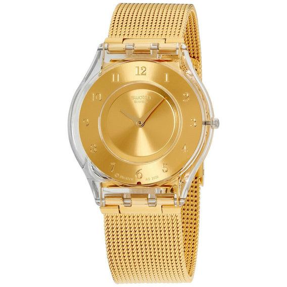Relógio Feminino Swatch Sfk355m Aço Inoxidável
