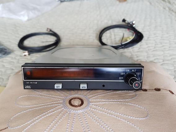 Radio Transponder King Kt79tso Com Gaveta Antena E Cabos
