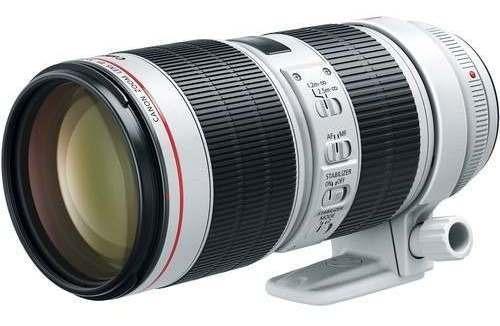 Lente Canon Ef 70-200mm F/2.8l Is Iii Usm - Nf + Garantia