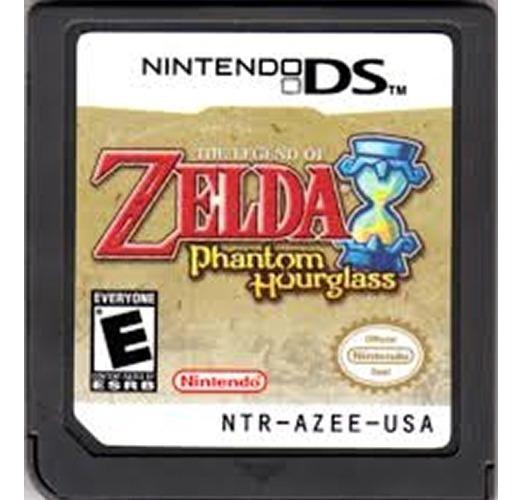 The Legend Of Zelda Phantom Hourglass (nintendo Ds) Cartucho