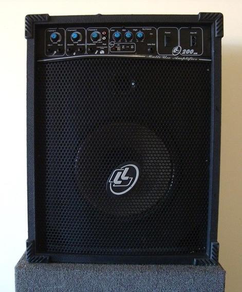 Caixa De Som Acústica Amplificada Multiuso Ll200 Ll Áudio