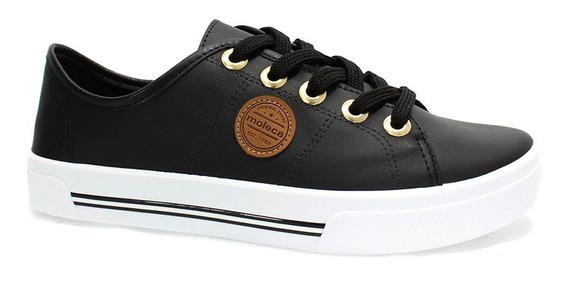 Tênis Moleca Napa Shoes Feminino Preto