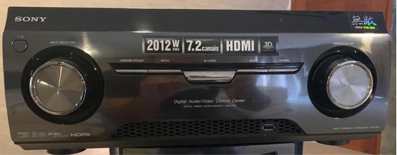 Receiver Sony Muteki 7.2ch 2012w Rms 3d