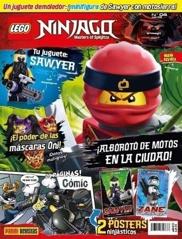 Imagen 1 de 2 de Libro - Revista Lego Ninjago 04