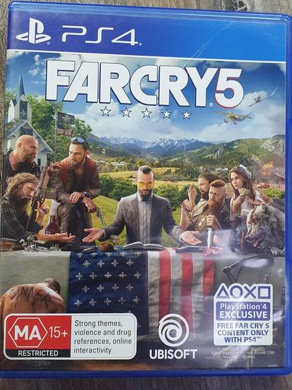 Farcry 5 - Usado - Ps4 - Física - Inglês