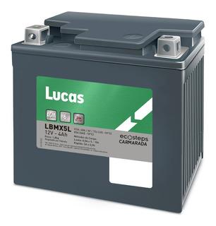 Bateria Moto Lucas Lbmx5l Honda Cg Fan -titan 125 / 150