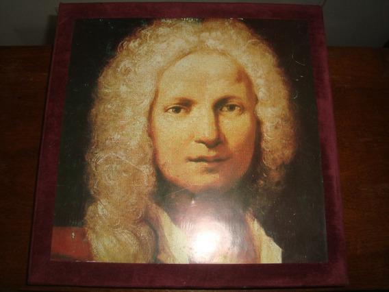 Antonio Vivaldi, Box Caixa 18 Lp Philips, Rara Conservação