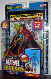 Dr Strange Marvel Legends Galactus Series Incluye Comic