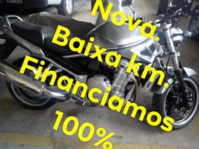 Suzuki Bandit 1.250 Cinza 2011/nova/revisada/km Baixa /top !