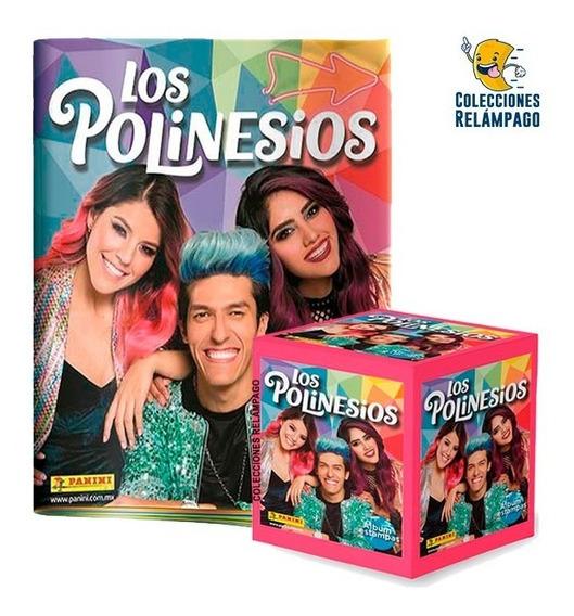Álbum Los Polinesios + Caja De Estampas Panini + Envío