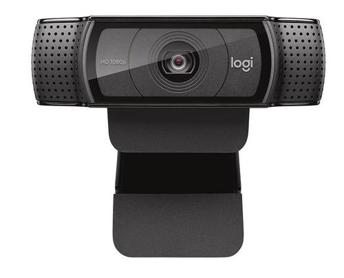Logitech C920 Hd Pro Webcam Full Hd De 1080p Audio Stéreo